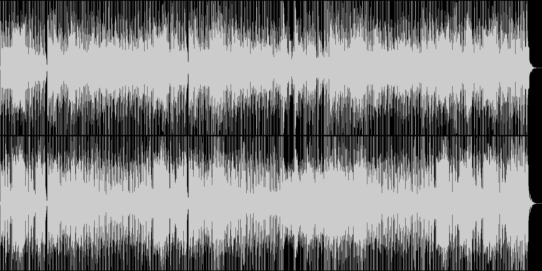 サーカス風、悲しみのワルツBGMの未再生の波形