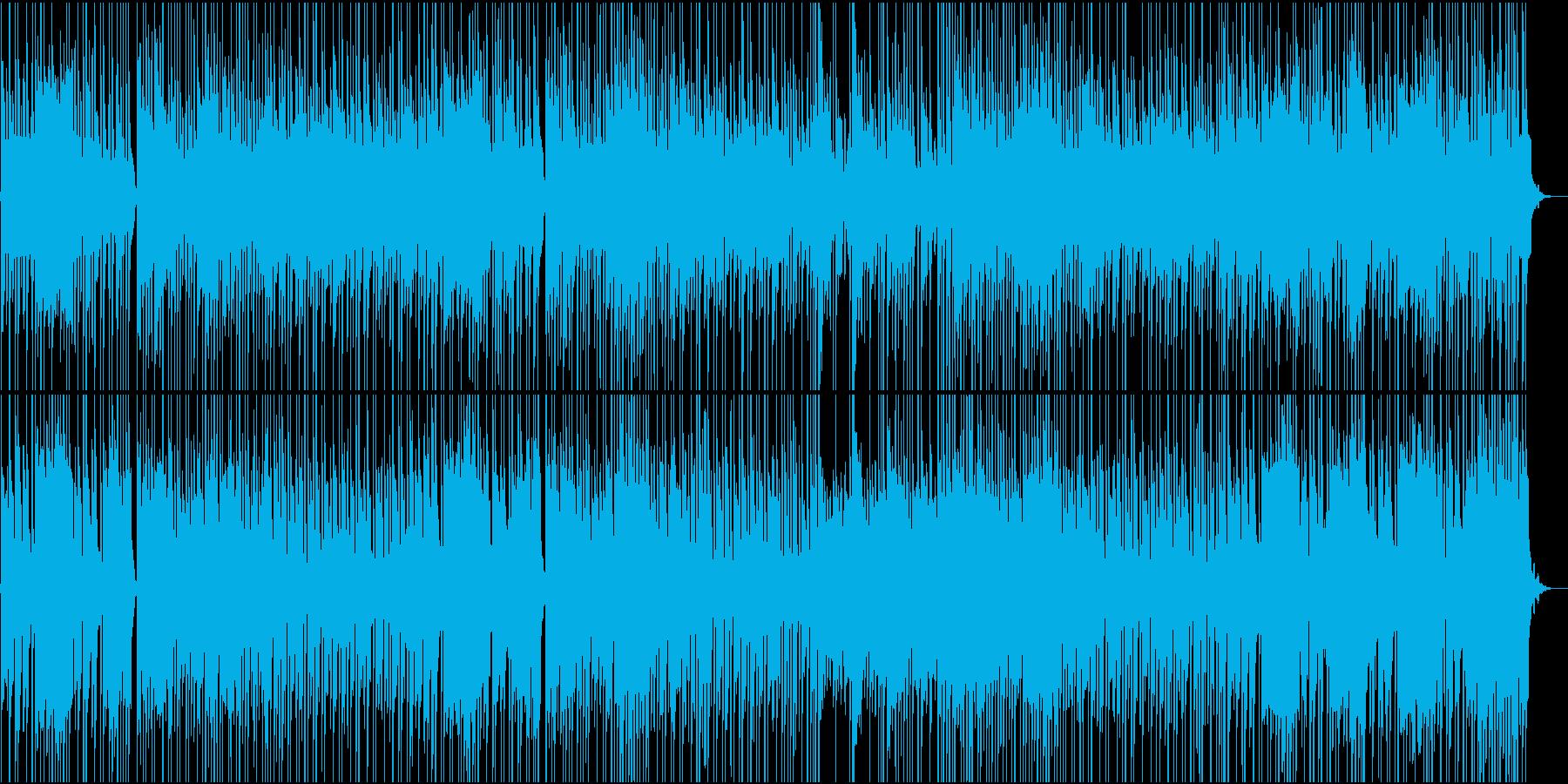 サーカス風、悲しみのワルツBGMの再生済みの波形