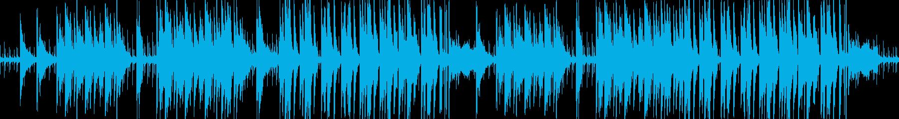 奇妙なビッグバンド風ジャズの再生済みの波形