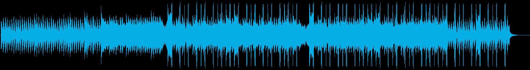 怪しい雰囲気のヒップホップ風ビートの再生済みの波形