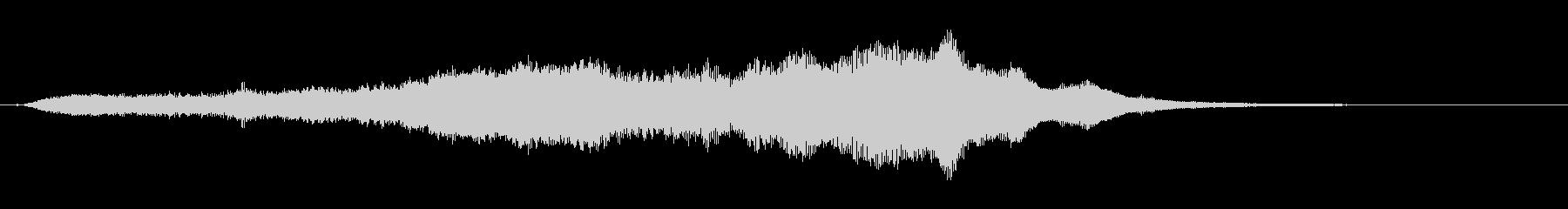 スプラッシュシンボル1お辞儀3の未再生の波形