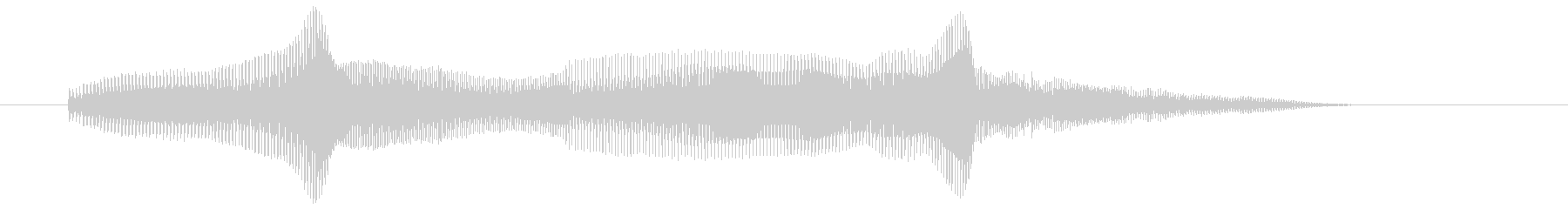 アーン♥(アダルトみ) エフェクトなしの未再生の波形