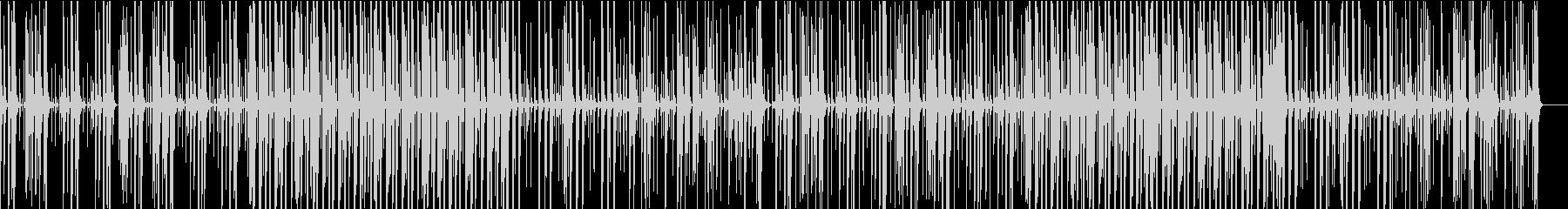 ほのぼのした雰囲気のマリンバの未再生の波形