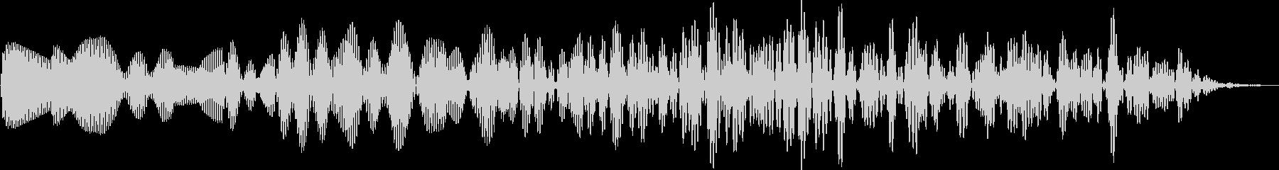 AMGアナログFX42の未再生の波形