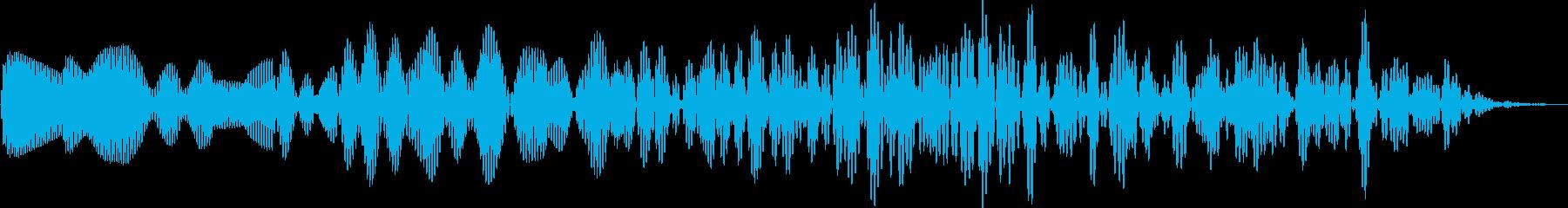 AMGアナログFX42の再生済みの波形