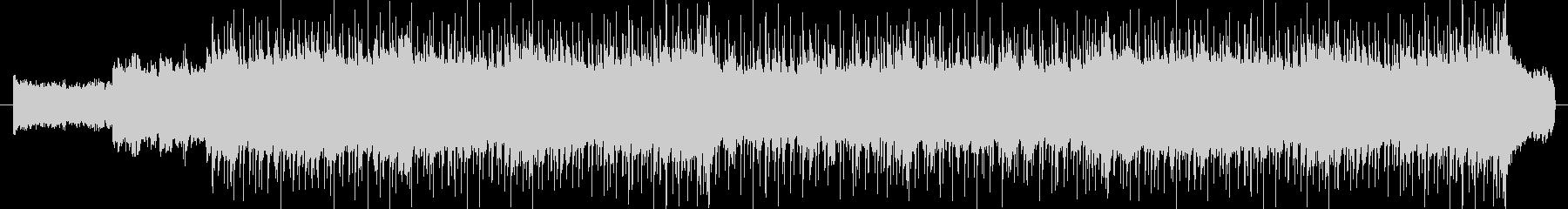 ギターリフが印象的なバンドサウンドの未再生の波形