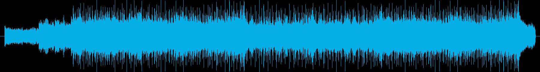 ギターリフが印象的なバンドサウンドの再生済みの波形