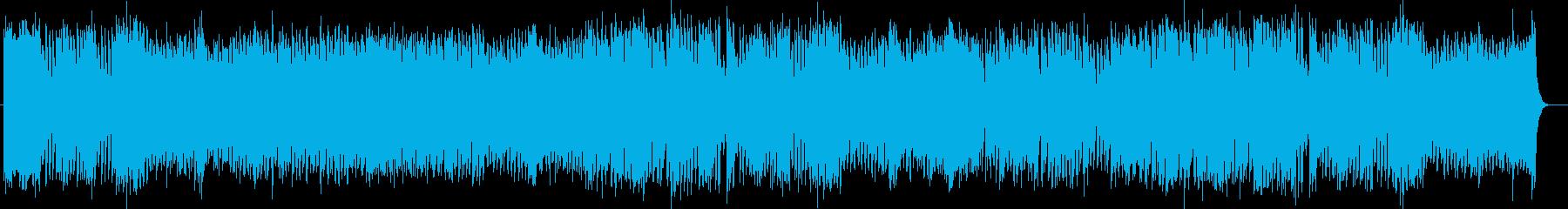 元気で勢いのあるシンセポップスの再生済みの波形