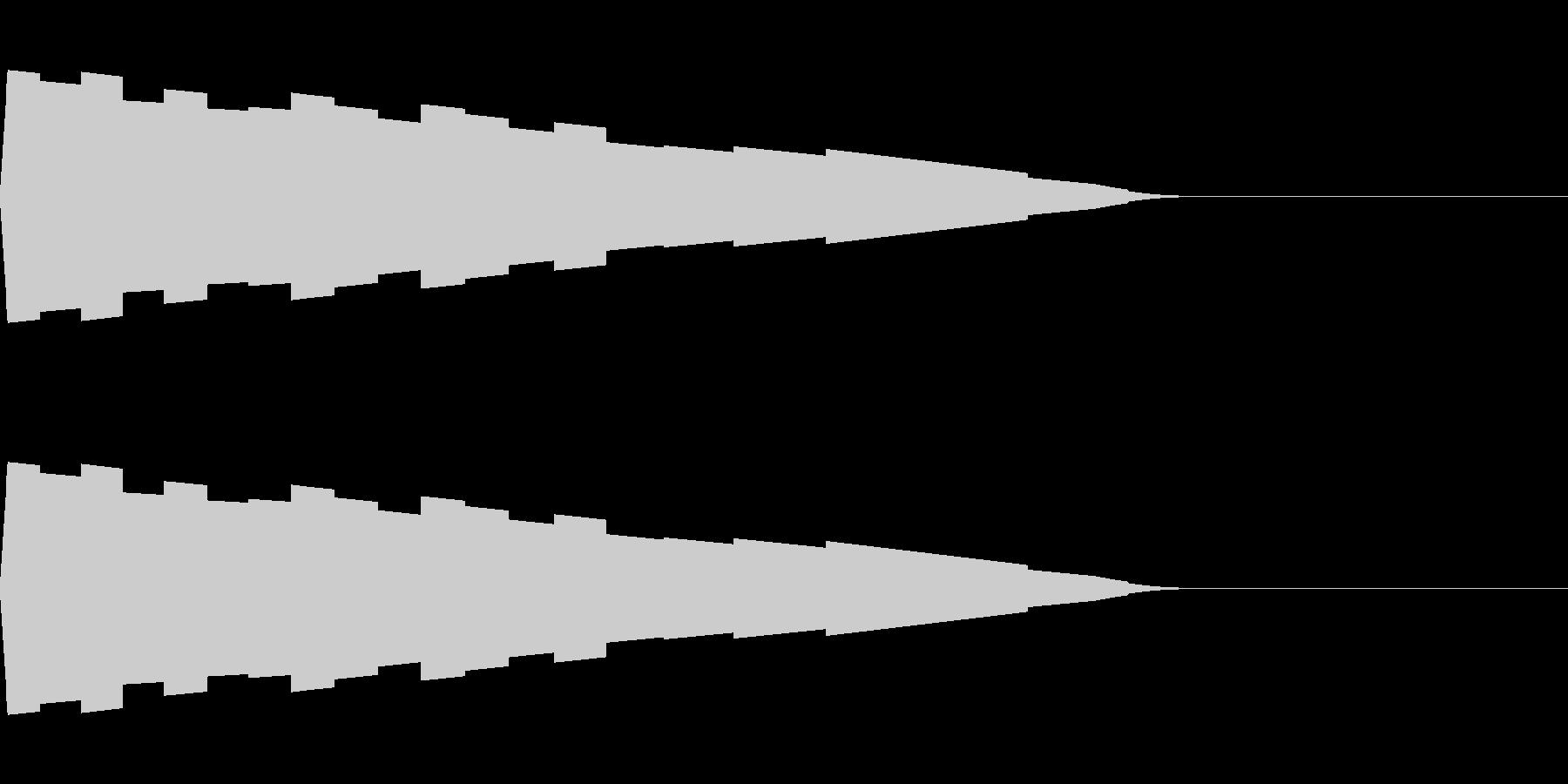 ピコピ(決定/選ぶ/ファミコンの未再生の波形