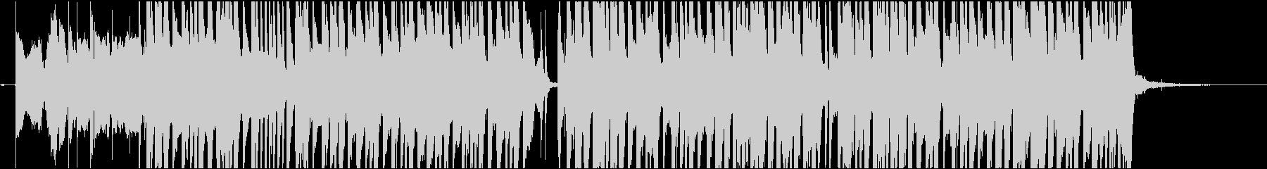 エキゾチックなレゲエBGMの未再生の波形