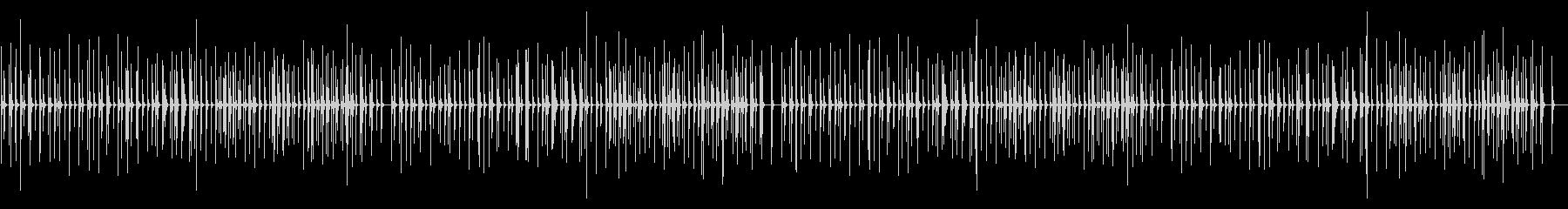 ピクニック 卓上木琴の未再生の波形