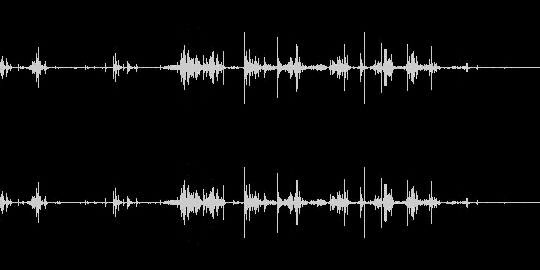 【カシャカシャ】ベアリングの音 の未再生の波形