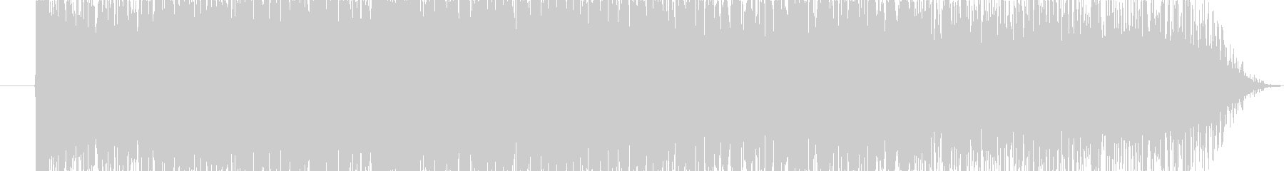 揚げ物の音(勢いよく揚げている)の未再生の波形