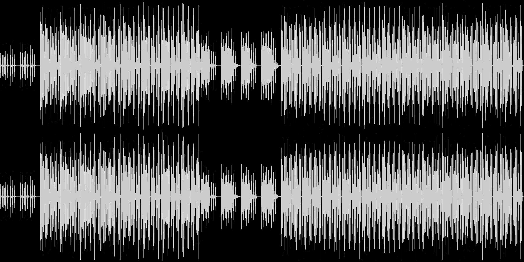 おしゃれ・低音重視・EDM・ベース6の未再生の波形
