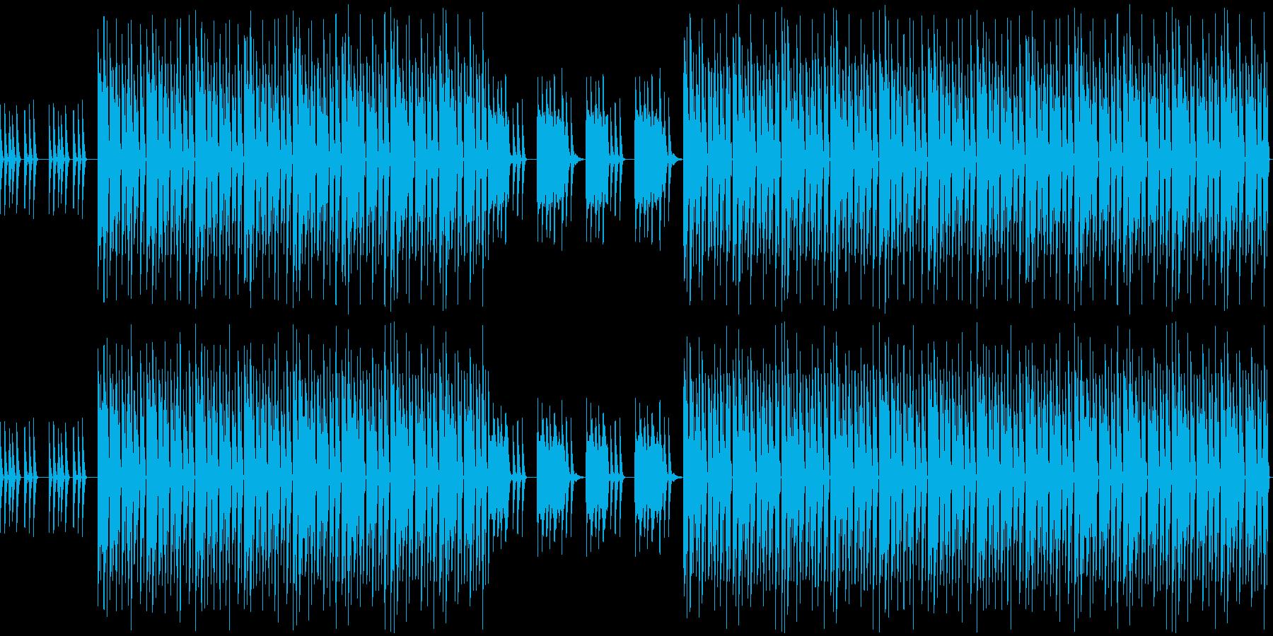 おしゃれ・低音重視・EDM・ベース6の再生済みの波形