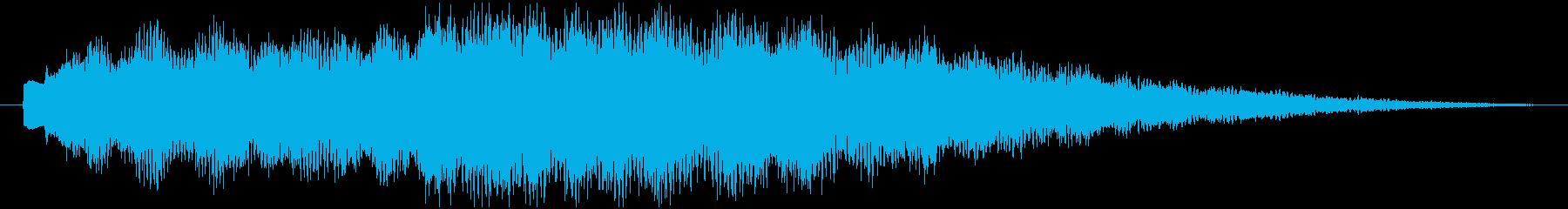 教育・学習・学問的な番組の冒頭ロゴの再生済みの波形