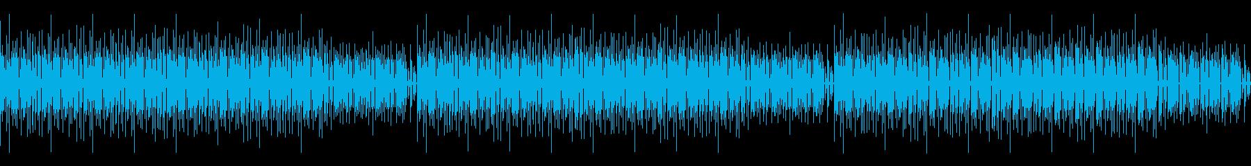 ポップで爽やかな木琴BGMの再生済みの波形