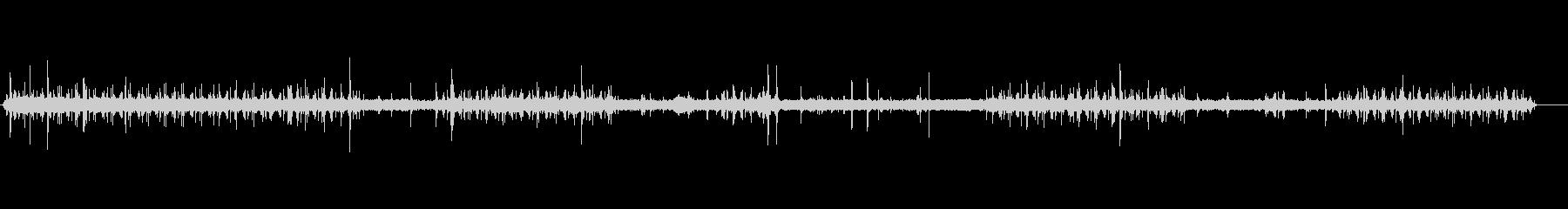 蓄音機プレスフロア1の未再生の波形