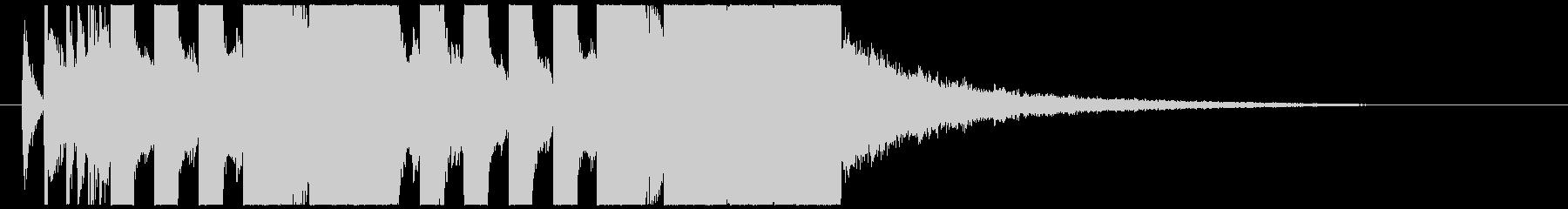 不思議なEDM ジングル TIKTOKの未再生の波形