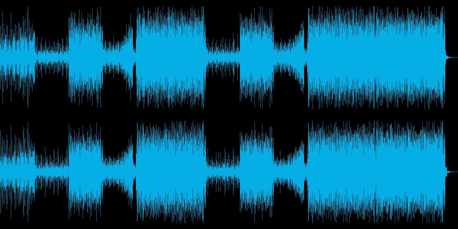 洋楽トレンドセツナ系トロピカルハウスの再生済みの波形