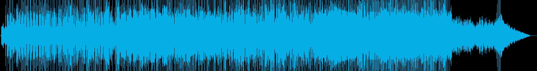 ひょうきんな感じのポップス・メロディーの再生済みの波形