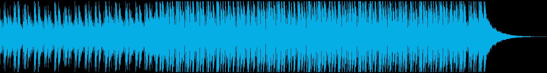 ダンスの背景(短)の再生済みの波形