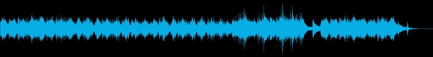 嫌な予感のするソロピアノの旋律の再生済みの波形
