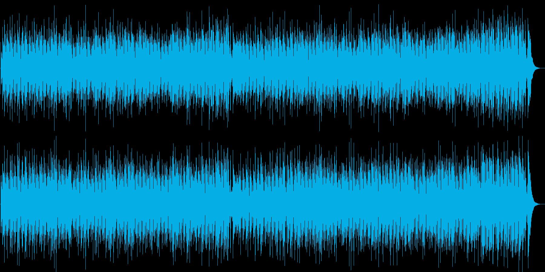 お洒落でしっとりしたピアノメロディーの再生済みの波形