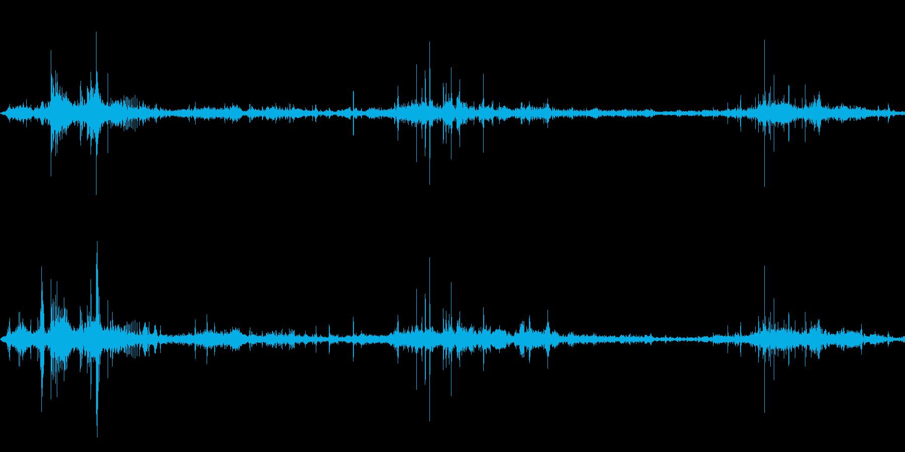 食べ物を食べる/かじる/噛む,効果音!4の再生済みの波形