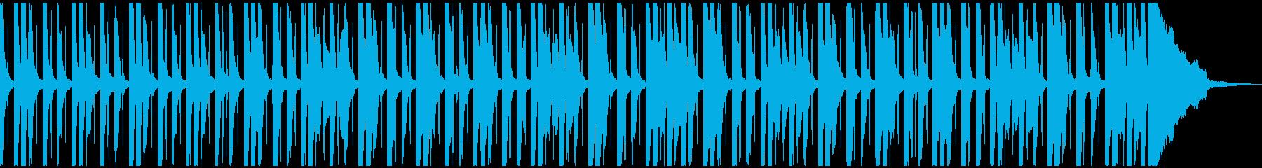 コミカルでほのぼのした雰囲気のBGMの再生済みの波形