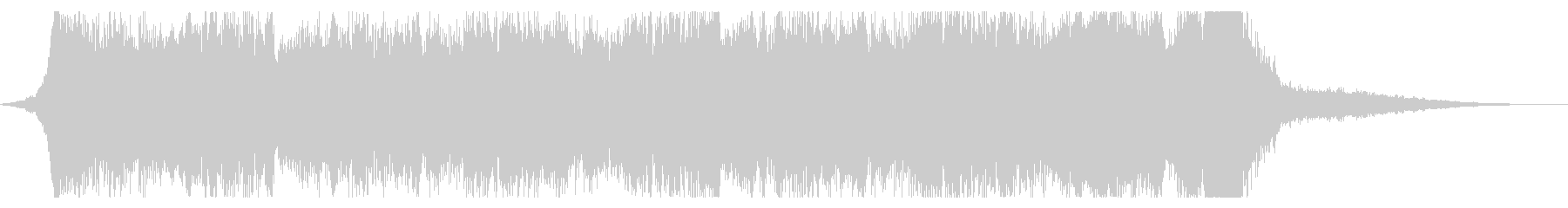 KANTホラー切迫感BGM200815の未再生の波形