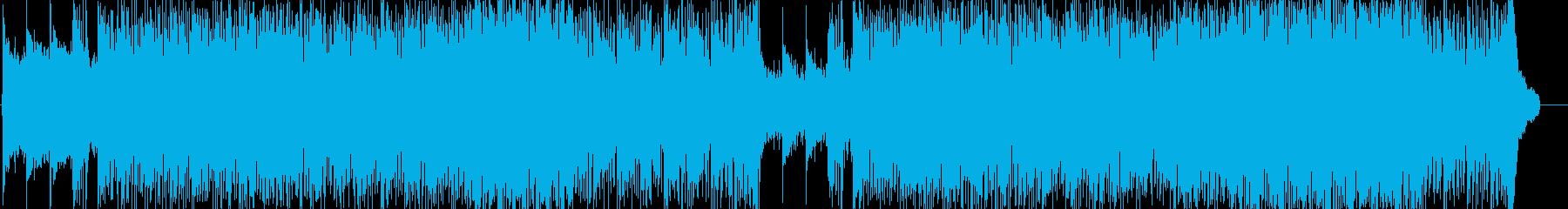 若々しい躍動感溢れるポップロックの再生済みの波形