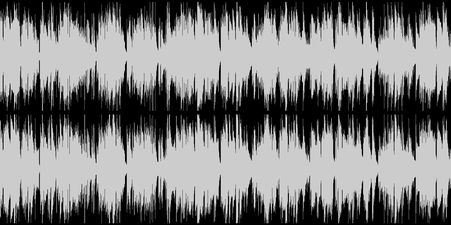 柔らかい幸せなジャズバラード ※ループ版の未再生の波形