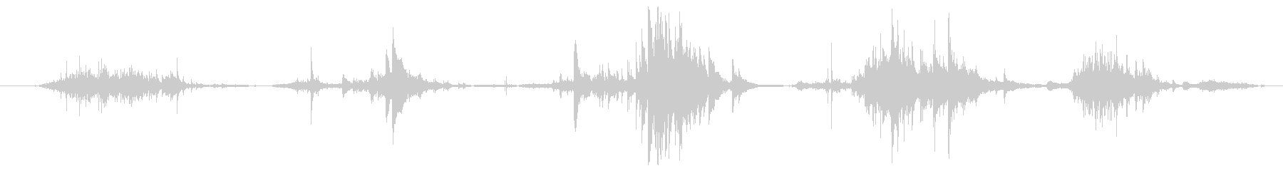 トウモロコシのほうき:セラミックガ...の未再生の波形