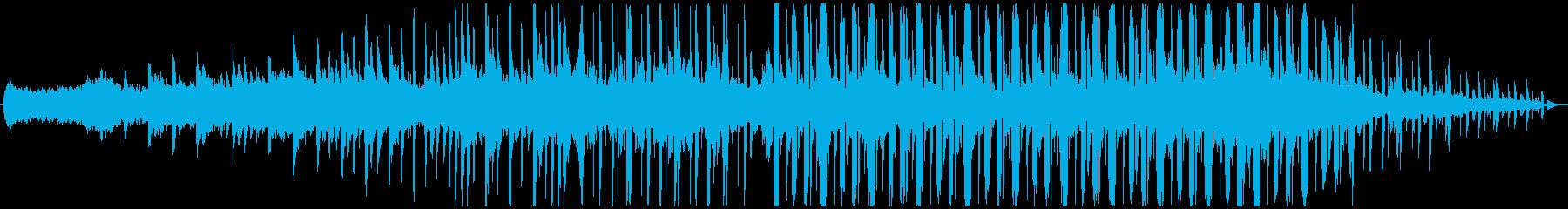モダン テクノ 古風 アンビエント...の再生済みの波形