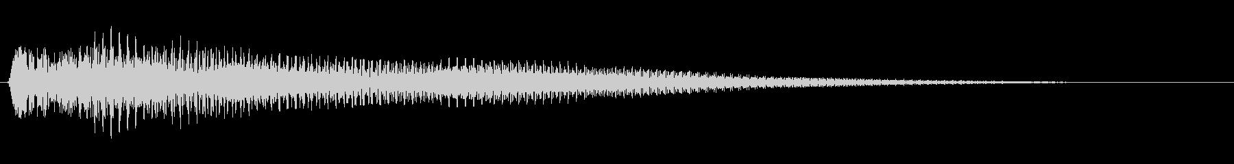 アコギジャラーン 操作音の未再生の波形