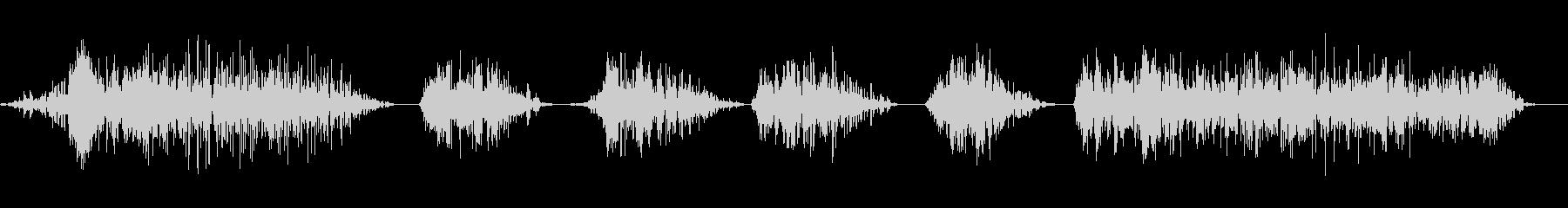 ワーハッハッハ4の未再生の波形
