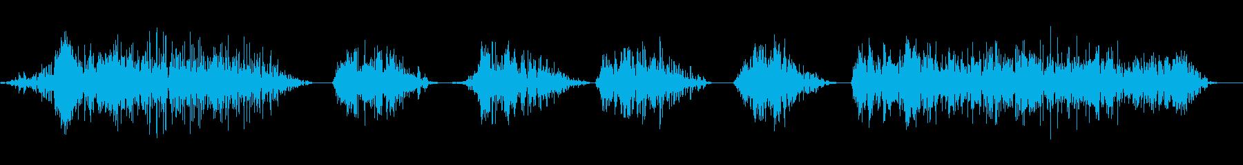 ワーハッハッハ4の再生済みの波形