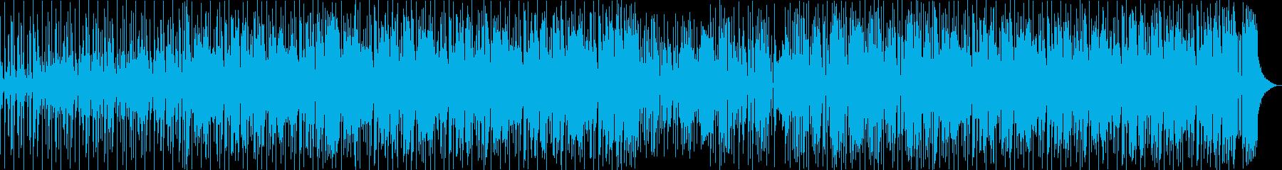 都会的でクールなジャズファンクの再生済みの波形