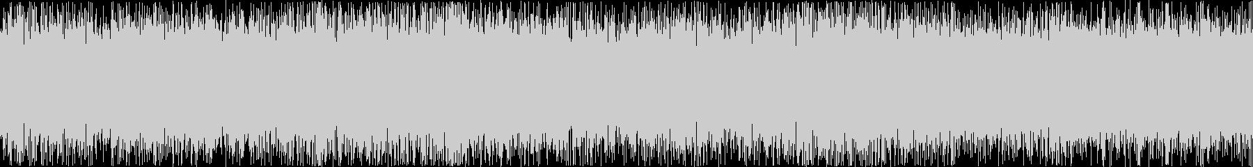 ザァー(FMラジオのノイズG)ループ処理の未再生の波形