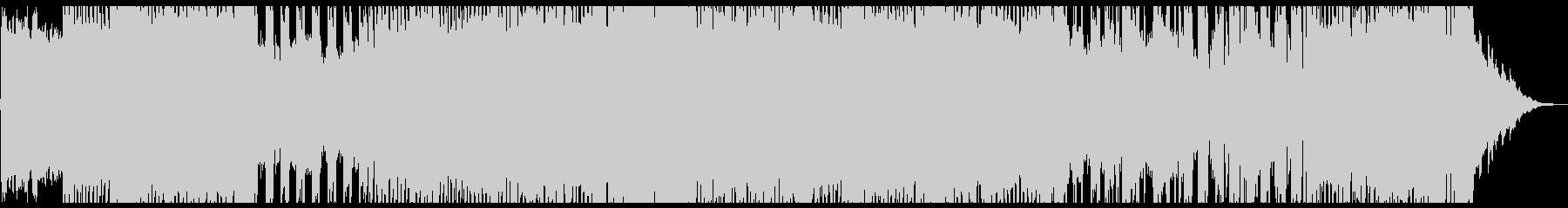 ポジティブなポップロック2の未再生の波形