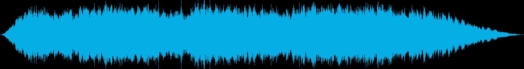 夢の中をイメージしたBGMの再生済みの波形