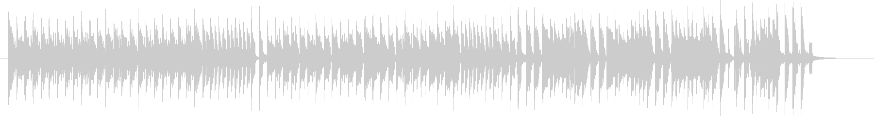 ブラームスハンガリー舞曲第5番 8bitの未再生の波形