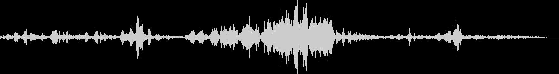 ショパン:別れの曲(ピアノソロ)の未再生の波形