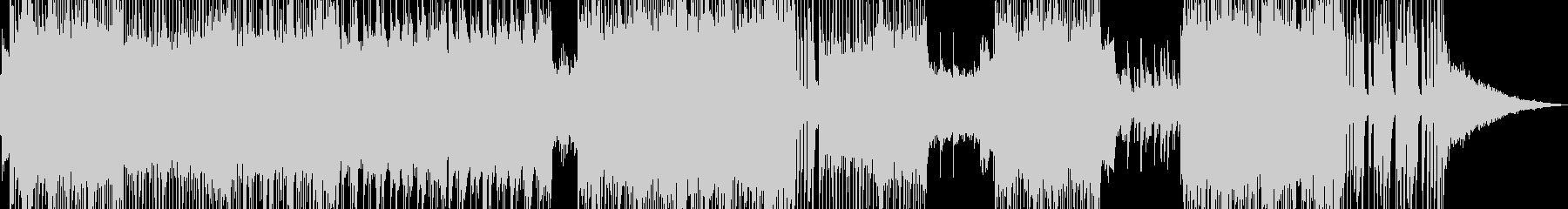 ハッピーを彩るミディアムロックの未再生の波形
