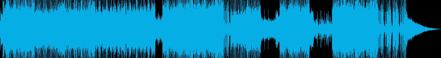 ハッピーを彩るミディアムロックの再生済みの波形