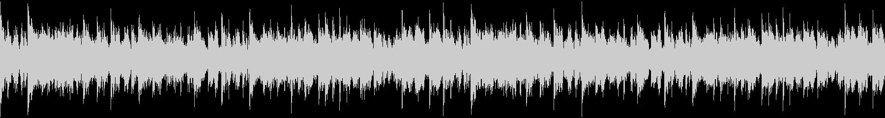 重厚打楽器のホラー系Loop BGMの未再生の波形