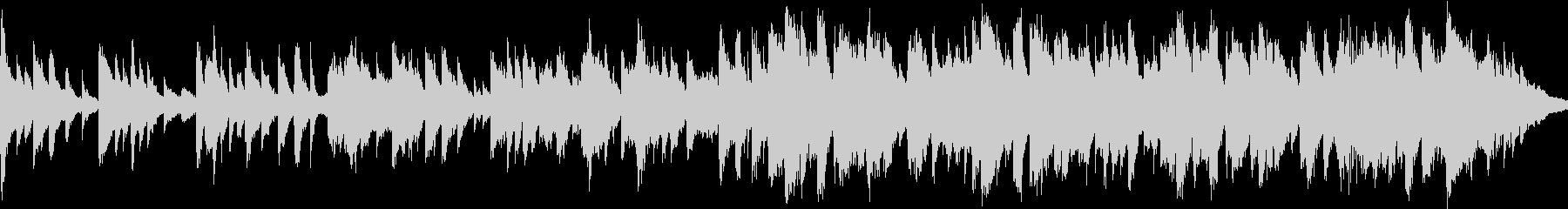 二胡と琴、ピアノの切ないBGM_ループの未再生の波形