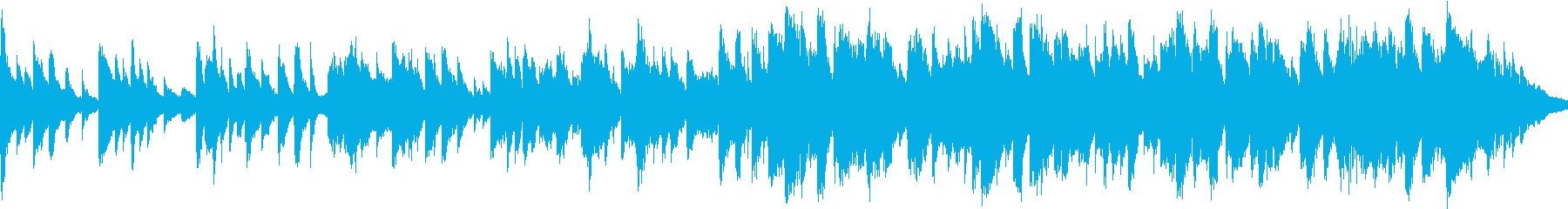 二胡と琴、ピアノの切ないBGM_ループの再生済みの波形