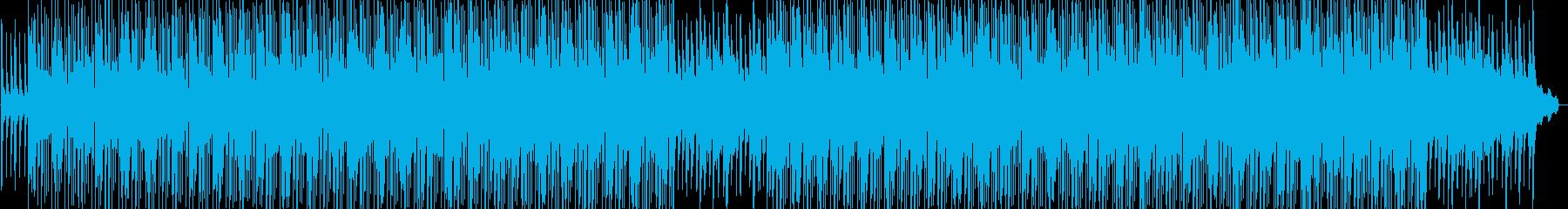 エキゾチックな雰囲気のダンスBGMの再生済みの波形